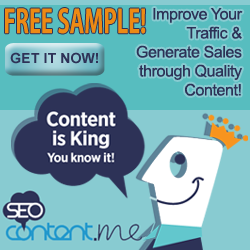 Improve your traffic and generate more sales through quality content